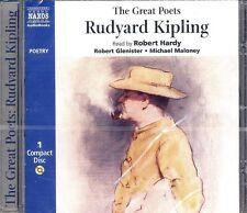 Rudyard Kipling The Great Poets audiobook CD NEW