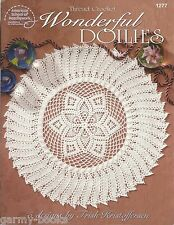 Wonderful Doilies Trish Patricia Kristoffersen Crochet Instruction Pattern Book