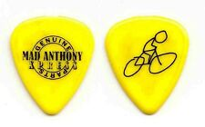 Van Halen Michael Anthony Mad Anthony Xpress Tour Yellow Guitar Pick