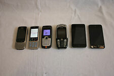 JOB OT X 6 MOBILE PHONES & IPODS NOKIA 6303CI,2610,6300 & IPODS 8GB, 32GB  M376
