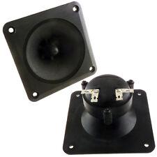 """Pair (2) 3.5"""" inch Flush Mount  Horn Tweeters Speakers Car Box Home Motorola"""