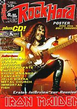 Magazin Rock Hard 144/1999,Iron Maiden