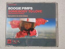 Boogie Pimps - Somebody To Love - CD Single