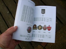 Fire Mark Prices Book by Steve Hinds.97 Illustrated Pages with all Recent Prices