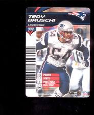 2003 NFL Showdown TEDY BRUSCHI New England Patriots Rare Card