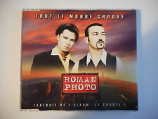 ROMAN PHOTO : TOUT LE MONDE GROOVE [ CD-MAXI PORT GRATUIT ]