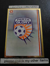 2015/16 TAP N PLAY A-LEAGUE GOLD CARD NO.137 PERTH GLORY F.C.