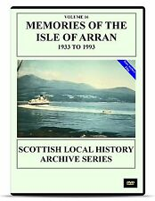 DVD Memories of the Isle of Arran 1933 to 1993 Scottish History Clyde Brodick