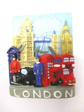 London Big Ben Eye Tower Bridge  Great Britain Metall Souvenir Magnet Souvenir