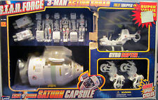 Vintage STAR FORCE 3-Man Astronaut Team Saturn Capsule, Gyro Copter Space Cycles