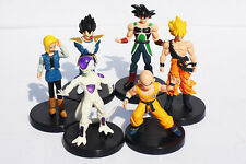 ACTION FIGURE TOY STATUE DRAGON BALL Z GT GOKU FREEZER VEGETA C18 SET 6PCS 4INCH