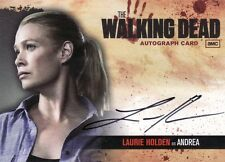 Walking Dead Season 1 Laurie Holden as Andrea A3 Auto Card