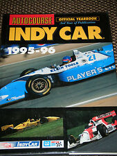 AUTOCOURSE INDY CAR 1995 1996 MICHAEL ANDRETTI BOBBY RAHAL PAUL TRACY TEO FABI