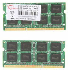 2x 4GB 8GB DDR3 1066 Mhz 1067 Apple MacBook Pro iMac mac mini PC3-8500S SO-DIMM