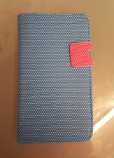 Magnetic Folio Flip Blue Leather Case Cover Stand For Samsung Galaxy N7100