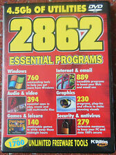 PC Utilities - 4.5GB Of Utilities DVD ROM - 2862 Essential Programs
