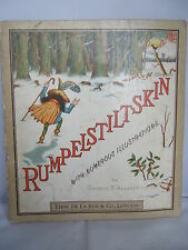 1882 Rumpelstiltskin - Illustrated by George R Halkett - The Brothers Grimm