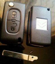 Cle Plip coque telecommande 2 boutons CITROEN C2*C3* phase 2