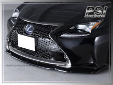 2015+ LEXUS JP Type Carbon Fiber Front Lip LEXUS RC200t RC350 F Spor