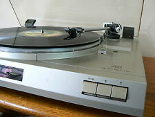 DUAL CS-515 TURNTABLE with ORTOFON CART & NEW RCA's -- SERVICED--
