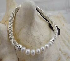 Honora Cultured Freshwater Pearl Collection 925 Sterling Silver Bracelet New