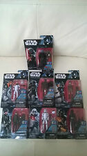 Starwars Rogue One  Wave 1  7 x 3.75'' Figures - Full set of wave 1 figures.