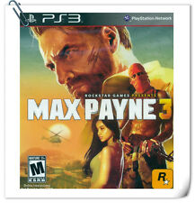 FREE GIFT! PS3 Max Payne 3 SONY PLAYSTATION Shooting Rockstar Games