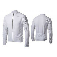 Bellwether Men's Sunscreen UV Long-sleeve Cycling Jersey White Large