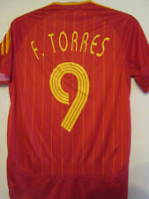 Spain 2006-2008 Torres 9 Home Football Shirt Size Small Jersey /35275