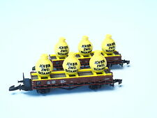 82100 Marklin Z-scale Stake 2 car Set DB with oil containers