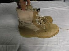 US Military Army Altama Hiking Boots Vibram Soles Tan Size 10 R 8137
