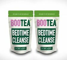 2 PACKS 14 Day Bootea Teatox Bedtime Cleanse 28 Days Supply Detox Skinny Boo Tea