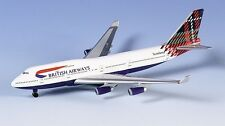 Herpa 502603 British Airways Boeing 747-400 1:500 Scale Scotland Livery 1:500 Sc