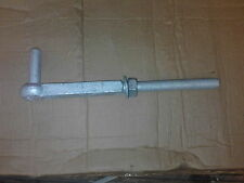 "Galvanised farm gate hanger hook to bolt 19 mm (3/4 "")"