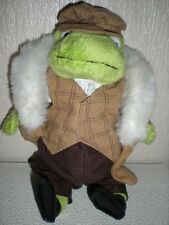 The Wind in the Willows Handmade Toad character soft toy very good condition