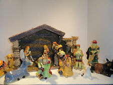 Thomas Pacconi Classics Nativity Scene with Manger