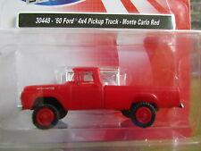 CMW/Mini Metals (HO 1:87) 1960 Ford  Pickup 4x4 (Red)) #30448 Special Price!