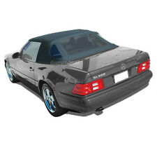 Mercedes R129 SL Convertible Soft Top Replacement 1990-2002 Black Stayfast Cloth