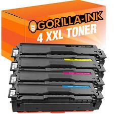 Set 4 Toner für Samsung CLT-504S CLP-415 N CLP-415 NW CLX-4195 FN CLX-4195 FW