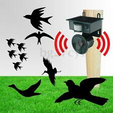 Solar PIR Sensor Pest Repeller Animal Bats Bird Cat Dogs Scarer Chaser Deterrent