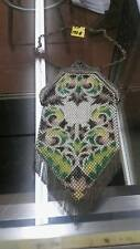 1920's Beaded purse in great shape brilliant vivid color on beading . Lot 132A