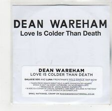 (FO259) Dean Wareham, Love Is Colder Than Death - DJ CD