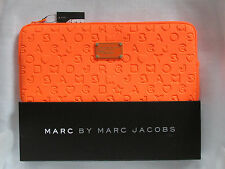 "Marc by Marc Jacobs 14"" Laptop Neoprene Dreamy Stardust Logo Sleeve Case NWD"