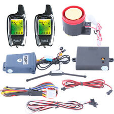 Universal SPY two way motorcycle alarm system W remote start & Proximity Sensor