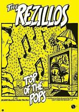 "REZILLOS POSTER ""TOP OF THE POPS"""