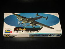 MAQUETTE - Me 110 DESTROYER - REVELL - 1/72  - MODEL KIT - COMPLETE