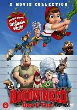 HOODWINKED / HOODWINKED 2 (Animation)  -  DVD - PAL Region 2