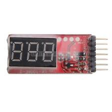 2-6s LED Low Voltage Lipo Battery Voltage Indicator Checker Tester 7.4V-22.2V