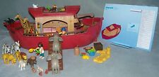 FABULOUS PLAYMOBIL NOAH'S ARK + LOTS OF ACCESSORIES SET 3255 VGC