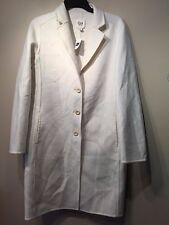 NWT Gap Women's Double-face car coat, Ivory SIZE XS  #464203